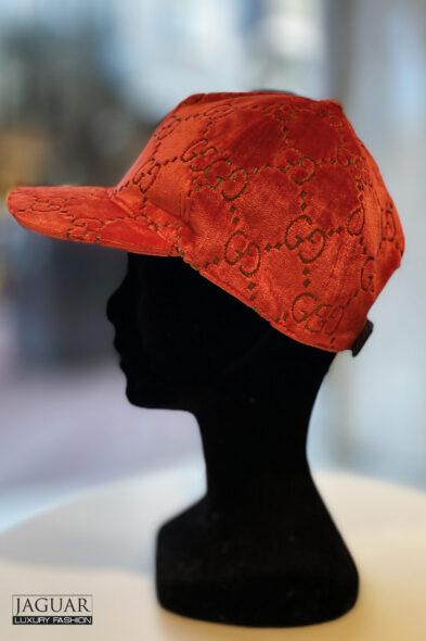 Gucci velvet cap