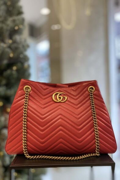Gucci marmont bag red