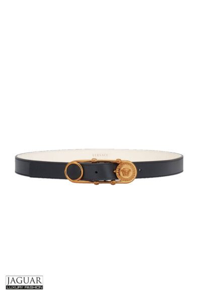 versace safety pin belt
