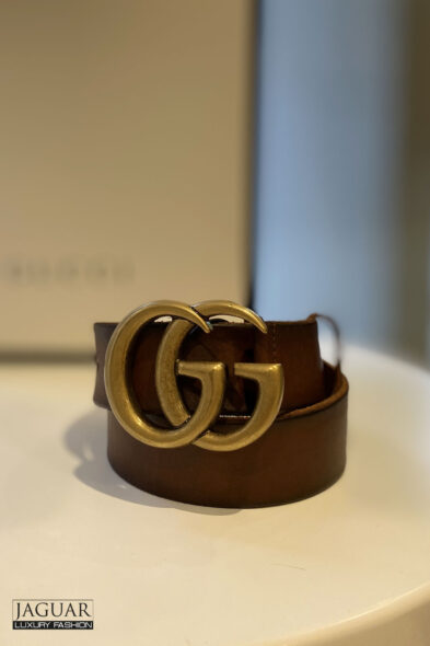 Gucci belt brown