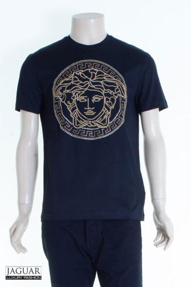 Versace medusa embellished