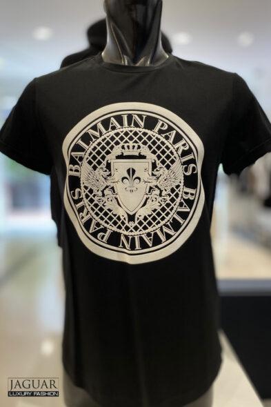 Balmain coin t-shirt black