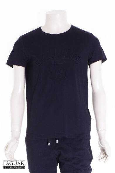 Balmain embossed logo t-shirt black