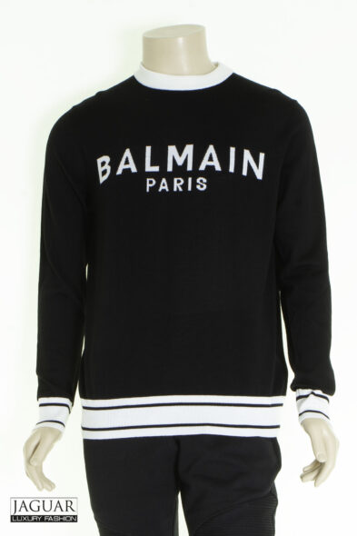 Balmain pull black white