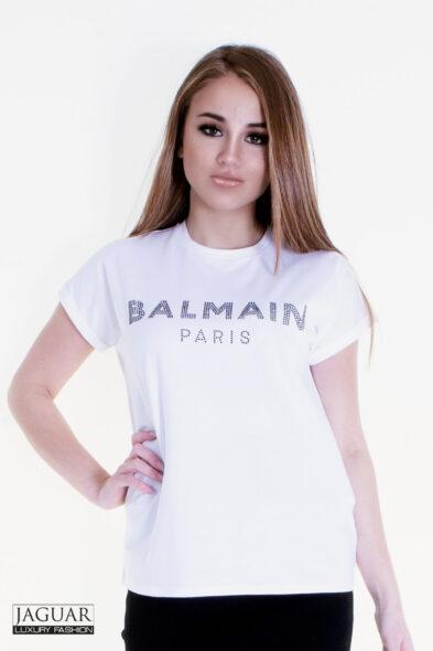 Balmain rhinestone t-shirt