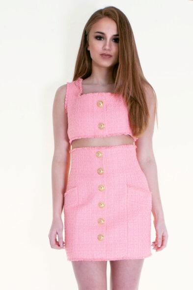 Balmain high waist skirt
