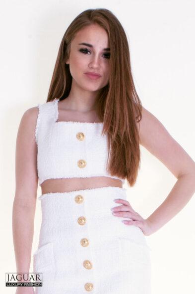 Balmain top white