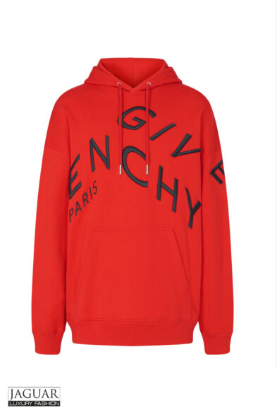 Givenchy hoodie red
