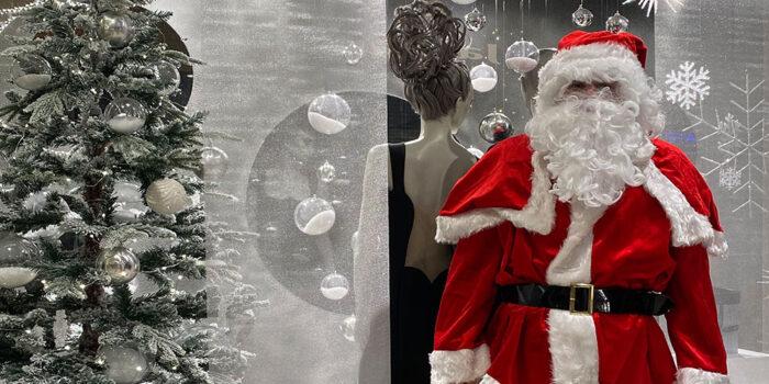 Kerstman komt bezorgen