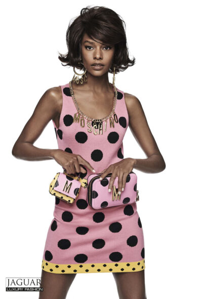 Moschino dress dot