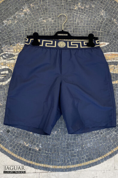Versace beachwear blue