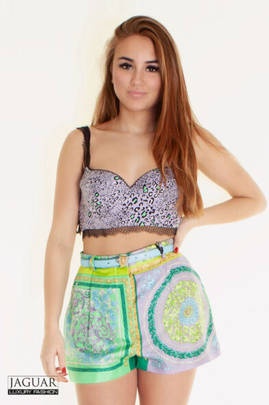 Versace silk short