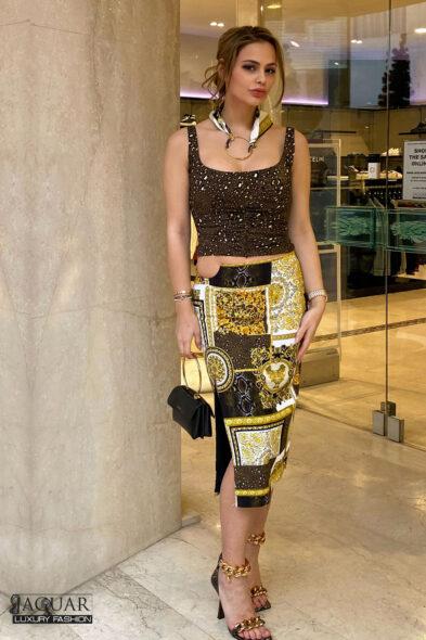 Versace skirt
