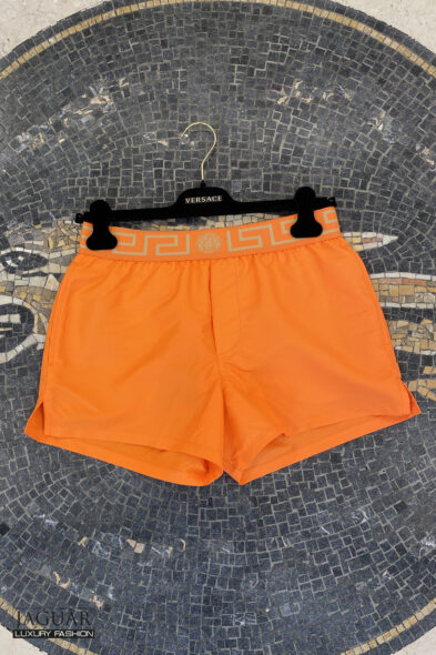 Versace swimshort orange