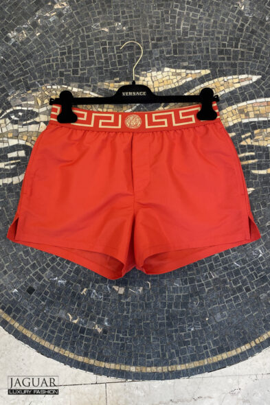 Versace swim short red