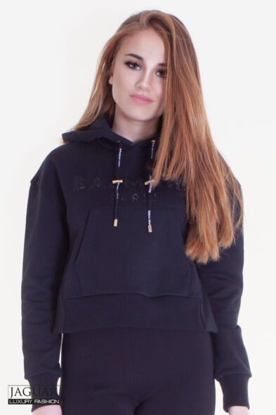 Balmain hoodie black