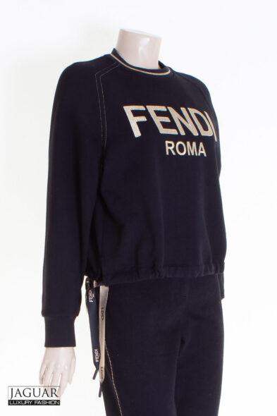 Fendi sweater black/gold