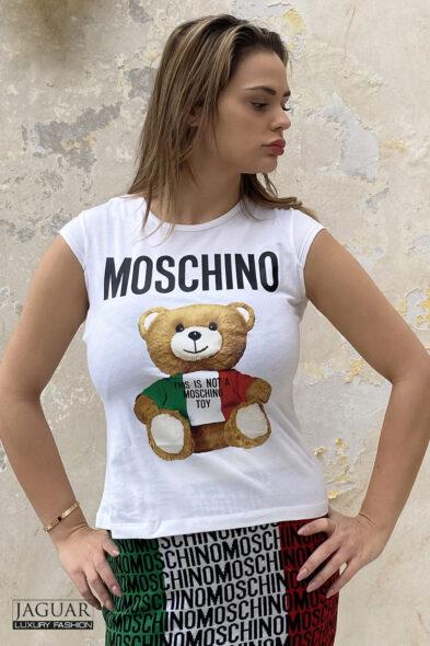 Moschino top white