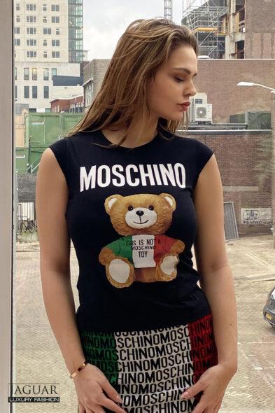 Moschino top black