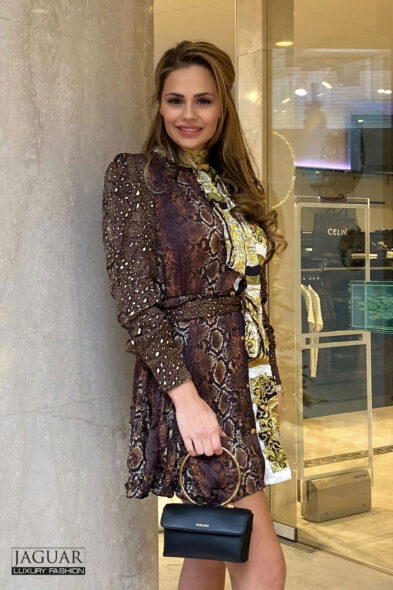 Versace dress satin