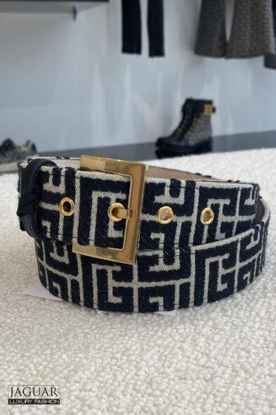 Balmain monogram belt
