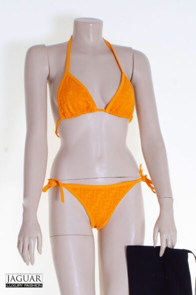 Fendi bikini orange