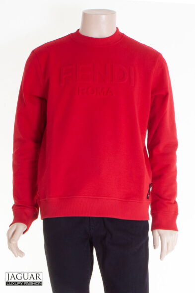 Fendi sweater red