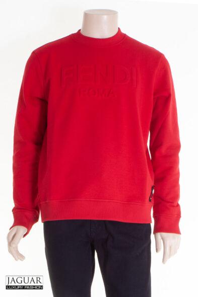 Fendi sweater red