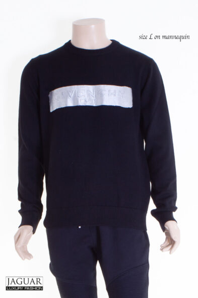 Givenchy pull black/silver