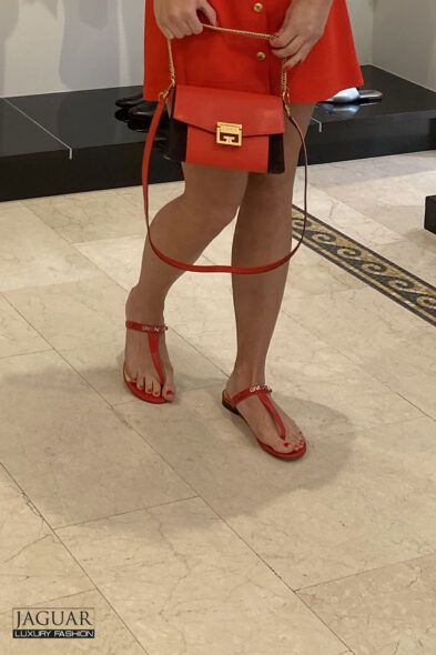 Givenchy sandal red
