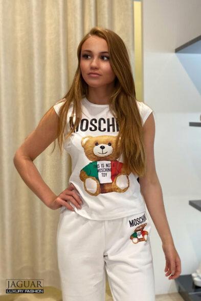 Moschino top bear