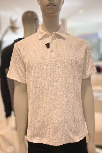 Dior poloshirt white