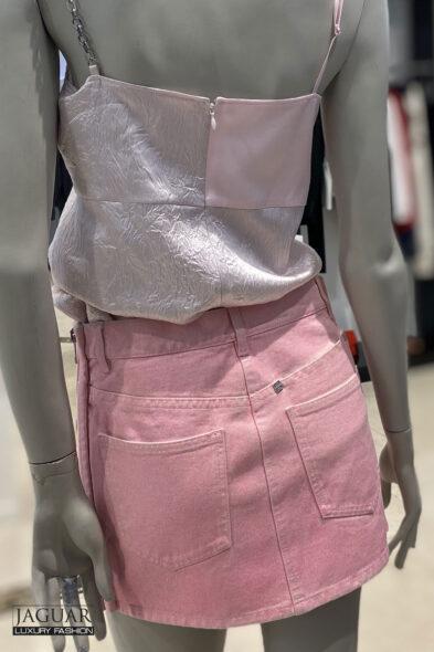 Givenchy skirt pink denim