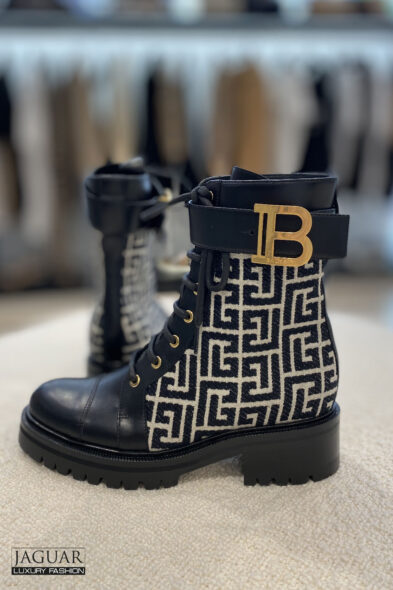 Balmain biker boots