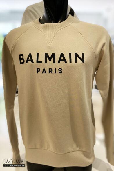 balmain sweater beige