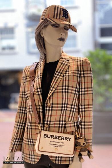 Burberry jacket wool