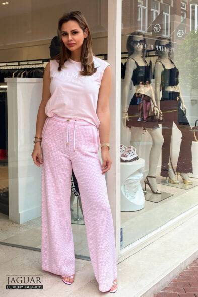 Balmain trousers pink