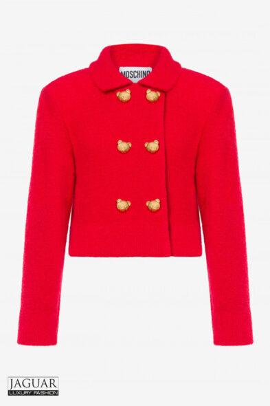 Moschino jacket red