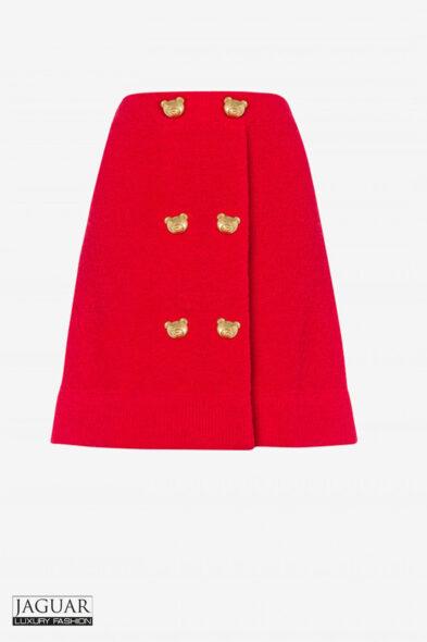 Moschino skirt red