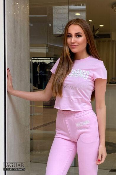 Moschino t-shirt pink