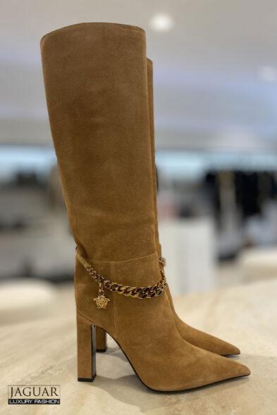 Versace boots sand