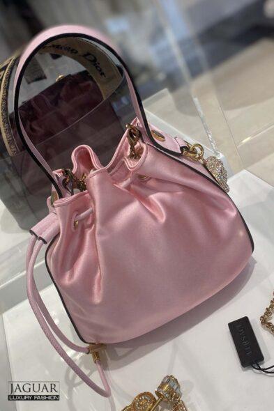 Versace pink bag
