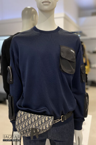 Versace military sweater