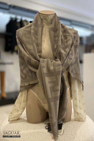 Fendi FF shawl beige