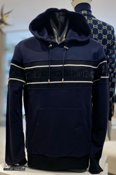 Balmain hoodie monogram