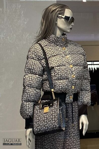 Balmain jacket monogram