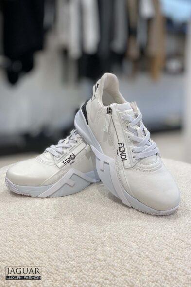 Fendi flow sneakers white